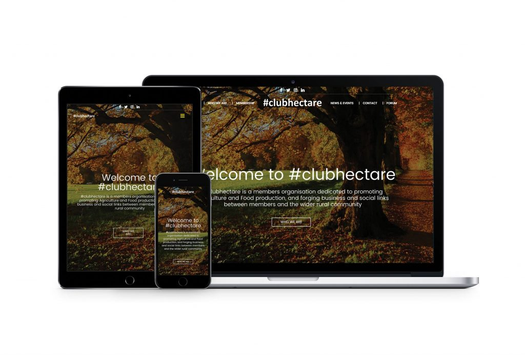 Club Hectare Website